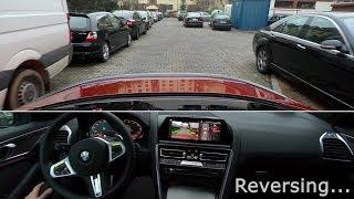 BMW Reversing Assistant (BMW X5 2019, BMW 8 Series) - real-life test :: [1001cars]