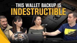 Roger Ver Unboxes CRYPTOTAG Luxury Wallet Backup with Guests
