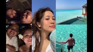 Moira Dela Torre and Jason Marvin Hernandez Luxury Honeymoon in Maldives