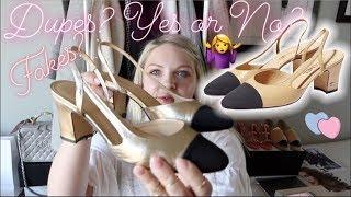 STORYTIME: The Best CHANEL Slingbacks Dupes Ever! + Your Views on Luxury Inspired Dupes
