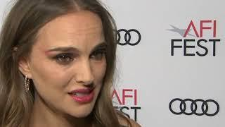 Natalie Portman talks wildfires and her new film 'Vox Lux'