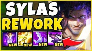 *NEW REWORK* SYLAS IS NO LONGER A MAGE (RIOT'S WORST FAILURE) - League of Legends