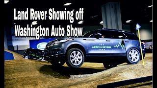 Range Rover Discovery is amazing! 2019 Washington Auto Show!