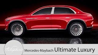 Vision Mercedes-Maybach Ultimate Luxury / Stufenheck trifft auf SUV [4K] - Autophorie
