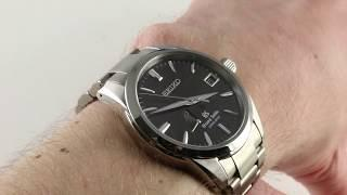 Grand Seiko Spring Drive SBGA081 Luxury Watch Review