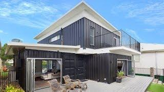 Incredible Luxury Cronulla 2 Story Container Home Built from 8 20ft and 3 40ft Shipping Containers