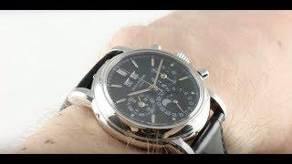 Patek Philippe 3970P-020 Perpetual Calendar Chronograph Luxury Watch Review