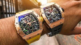 Richard Mille Watches – RM 11-01 vs RM 11-03 Luxury Watch Review!