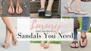 LUXURY SANDALS YOU NEED FOR SPRING/SUMMER | LuxMommy