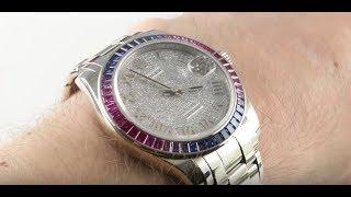 Rolex Datejust Pearlmaster 86349SAFUBL Luxury Watch Review