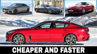 When Cheaper Is Better: Top 5 Sports Cars that Are Outperformed by Stinger