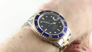 Rolex Submariner 16803 Luxury Watch Reviews