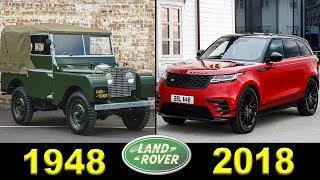 Land Rover - Evolution (1948 - 2018)
