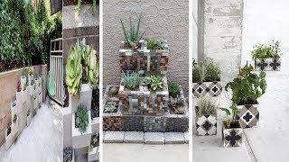 40+ Luxury DIY Cinder Block Garden Design Ideas
