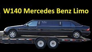 W140 MERCEDES LIMO ~ PROJECT LIMOUSINE 90'S LUXURY S420 BUSINESS OFFICE