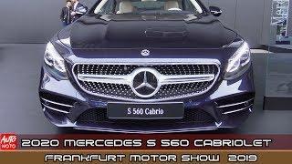 2020 Mercedes S 560 Cabriolet - Exterior And Interior - IAA Frankfurt Motor Show 2019