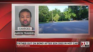 Father out on bond after son dies in hot car