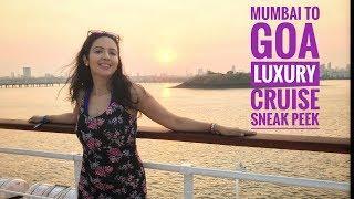 Aboard Mumbai- Goa Luxury Cruise ANGRIYA | Exclusive Preview