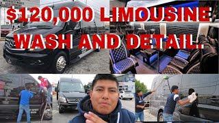 LUXURY LIMOUSINE BUS WASH AND DETAILING