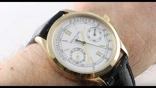 Patek Philippe Chronograph 5170J-001 Luxury Watch Review