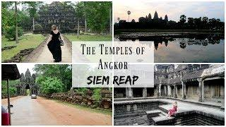 Adventures at Angkor, Siem Reap | Travel Vlog | Lux Life