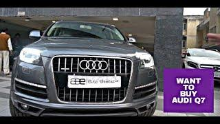 Want To Buy AUDI Q7 | Second Hand | ABE | Luxury Cars Market In Delhi | VBO Life