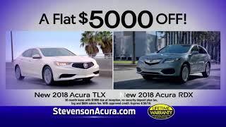 Stevenson Acura Luxury Savings