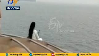 CM Devendra Fadnavis Wife Ignores Safety Warning   Snaps Selfie on Luxury Cruise