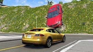 Instant Karma & Car Near Miss Compilation 2 - BeamNG Drive