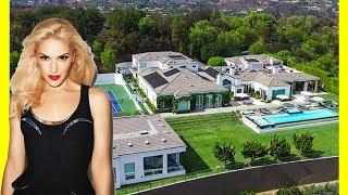 Gwen Stefani House Tour $35000000 Mansion Expensive Luxury Lifestyle 2018