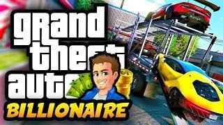 Buying New Lamborghini Cars! GTA 5 BILLIONAIRE LIFE MOD - LIVING THE LUXURY LIFE!
