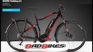 Haibike SDURO Trekking 2 0 Yamaha PW-SE Elektro Fahrrad 2019