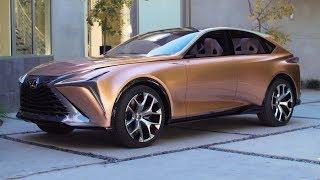 Lexus LF-1 Limitless - interior Exterior and Drive