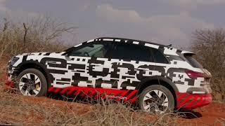 2019 Audi e-tron Off-Road Driving in Abu Dhabi
