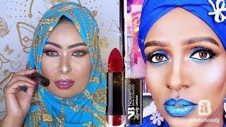 Naeema Brink Cosmetics Luxury Lipsticks | Somali Makeup Artist | Amenabeauty