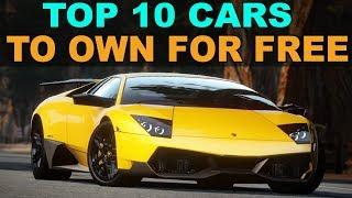 How to drive an Exotic Car for Free (Top 10 Best Cars)