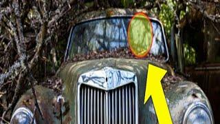 4 top amazing collection of abandoned vehicles - classic cars and luxury cars