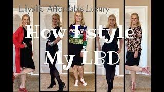 How I Style My Little Black Dress | Lilysilk Affordable Luxury