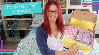 Sew Hayley Jane Luxury Box Unboxing