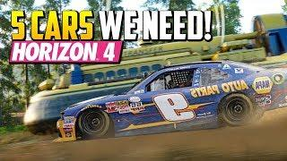 5 Cars We Need in Forza Horizon 4