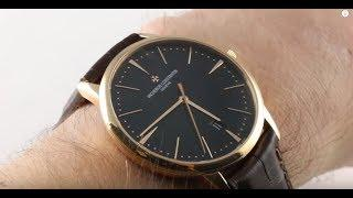 Vacheron Constantin Patrimony 85180/000R-9166 Luxury Watch Review