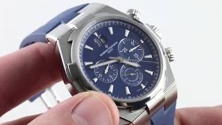 Vacheron Constantin Overseas Chronograph 49150/000A-9745 Luxury Watch Review