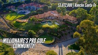 $3,072,000 // Highly-coveted Luxury Living on a celebrity golf course!