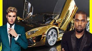Kanye West's Cars Vs Justin Bieber's Cars $30000000 Luxury Lifestyle 2018