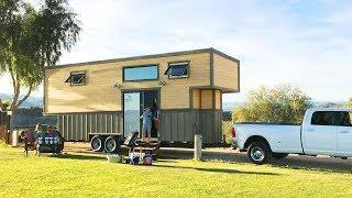 Cozy With Luxury Double Loft From Free 2 Roam  | Lovely Tiny House