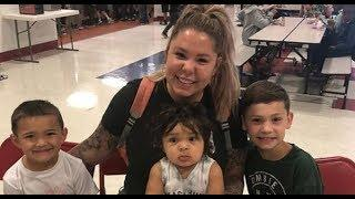 TEEN MOM NEWS: Kailyn Lowry's Baby Lux Gets Into the Cereal Cabinet and All Hell Breaks Loose