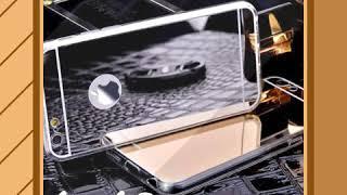 Luxury Case Casing Kaca Iphone 6 Plus Silver