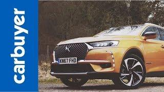 New 2018 DS 7 Crossback review –a new name in French luxury? – Carbuyer