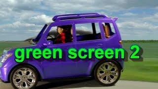 Chroma key how to greenscreen a barbie truck driving scene
