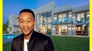 John Legend & Chrissy Teigen House Tour $14100000 Mansion Luxury Lifestyle 2018